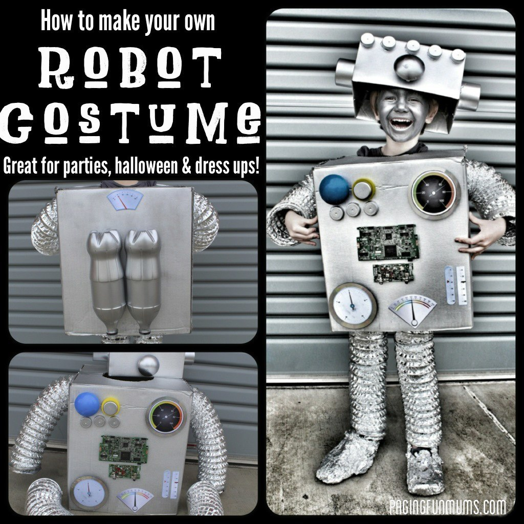 Robot kosztüm gyerekeknek